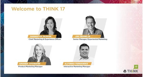THINK Ahead: Get Ready for THINK 17