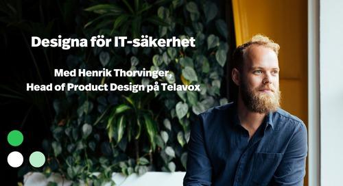 Webinar: Designa för IT-säkerhet