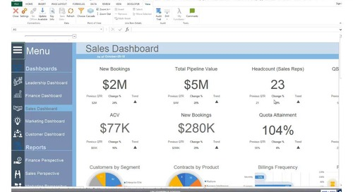 Integrated Revenue Performance Management with MS Excel