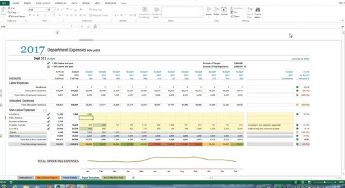 Better Budgeting with Microsoft Excel