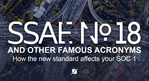 SSAE 18 and Other Famous Acronyms