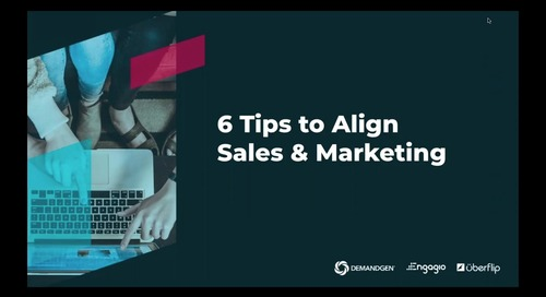 6 Tips to Align Sales & Marketing