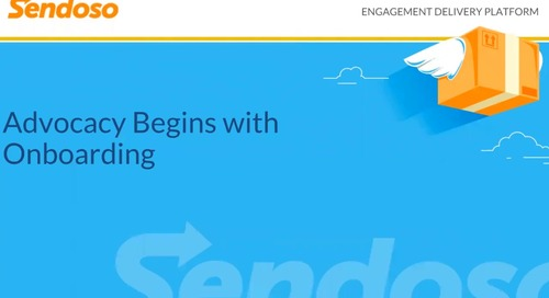 Customer Advocacy Begins with Onboarding