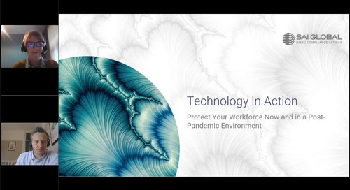 Technology in Action | Protect Your Workforce Now and in a Post-Pandemic Environment