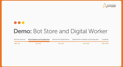 Bot Store: How to install and configure a bot?
