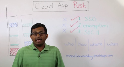 Movie Line Monday - 45 - Evaluating Cloud App Risk