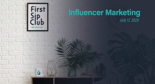 The First Slip Club Chat Wrap-up, Influencer Marketing on July 17th