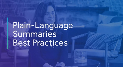 Plain-Language Summaries: Best Practices