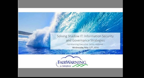 Solving Shadow IT: Information Security and Governance Strategies