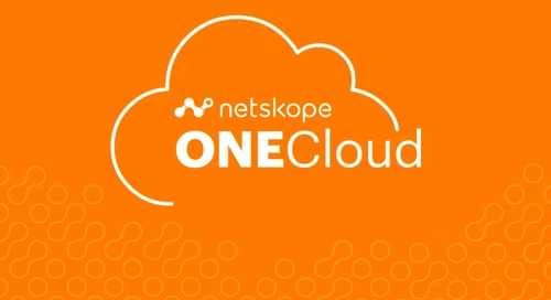 Smart Cloud Sessions: Netskope ONECloud