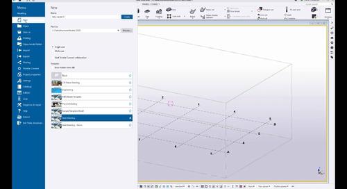 Creating model templates