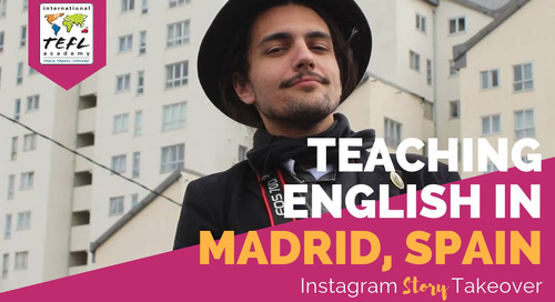 Day in the Life Teaching English in Madrid, Spain with Andre Mileti