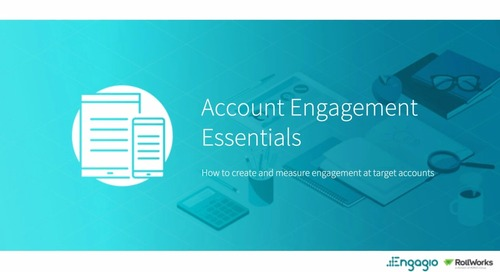 Back to Marketing School: Account Engagement Essentials