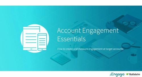 Back to Marketing School: Account Engagement Essentials