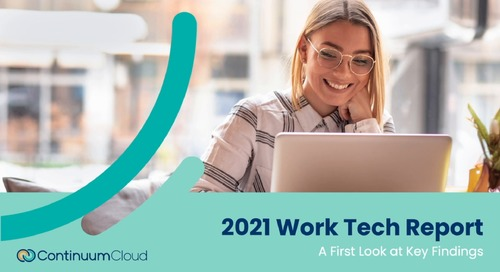 2021 Work Tech Report: First Look at Key Findings