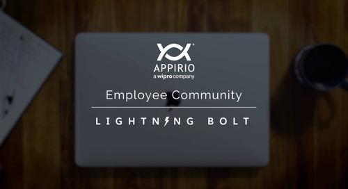Appirio's Employee Community Lightning Bolt