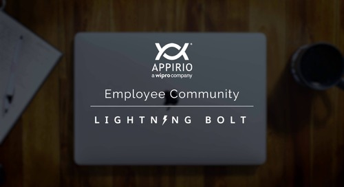Appirio's Employee Community Lightning Bolt