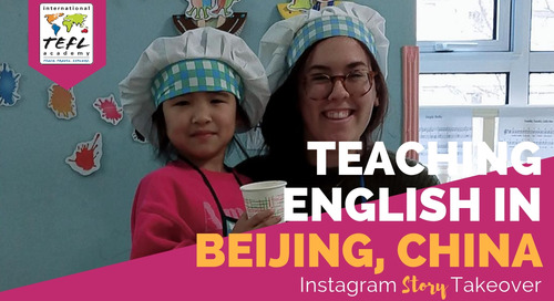 Day in the Life Teaching English in Beijing, China with Alyssa Driscoll