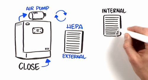 [Video] In-VitroCell CO2 Incubator Closed Loop HEPA Filtration