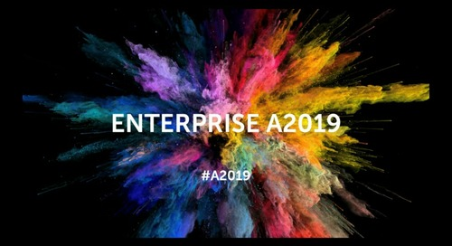 Automation Made Brilliant with Enterprise A2019 [Archived on November 14, 2019]