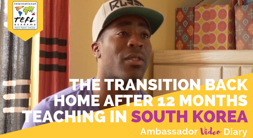 The Transition Back Home After Teaching Abroad in South Korea with Tim Unaegbu