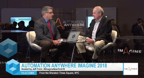 Bill Raduchel, Economist, Imagine New York 2018 Interview