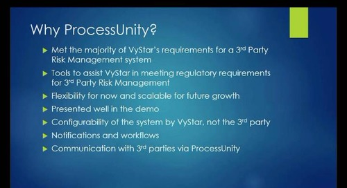 Webinar Replay: Third-Party Risk Management at VyStar Credit Union