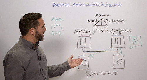 Configuring Active-Active Enterprise Firewall in Microsoft Azure