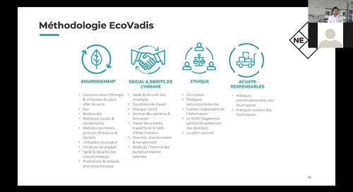 Comprendre et maîtriser la méthodologie EcoVadis avec Nexio Projects