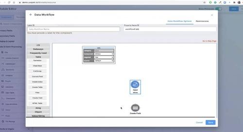 Demo: Data Workflow