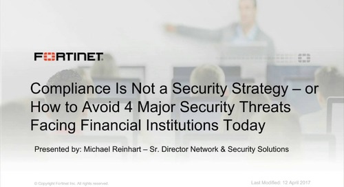 How to Avoid the 4 Major Security Threat Sources Facing Financial Institutions