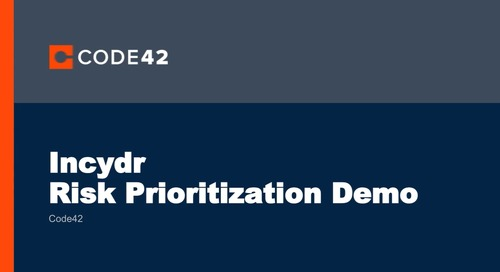 Incydr™ Demo on Risk Prioritization