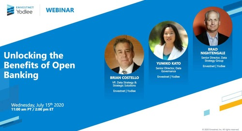On-Demand Webinar: Unlocking the Benefits of Open Banking