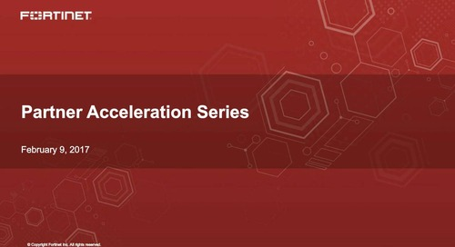 Partner Acceleration Series Webcast - February 2017