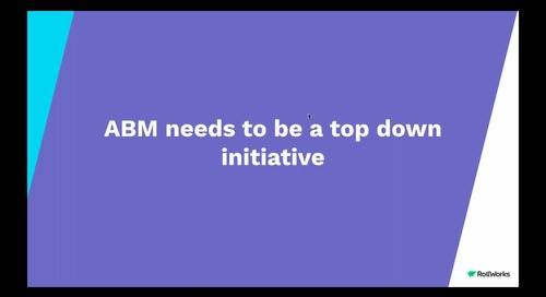 Building your Demand Gen Team for ABM