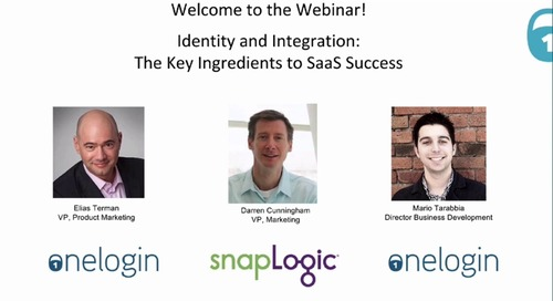 Identity and Integration: The Key Ingredients to SaaS Success