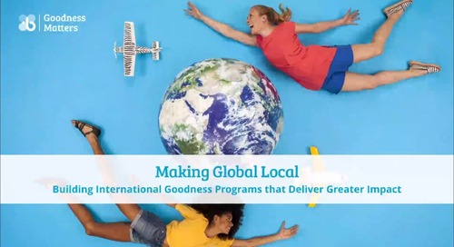 Making Global Local: Building International Programs that Deliver Impact