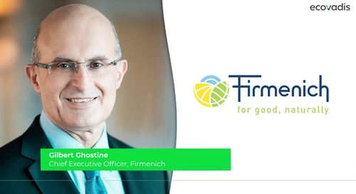Gilbert Ghostine, CEO Talks About Firmenich's Inclusive Capitalism Model