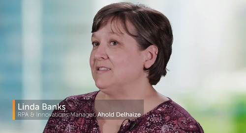 Retail Business Services (Ahold Delhaize) Reduces Costs with RPA