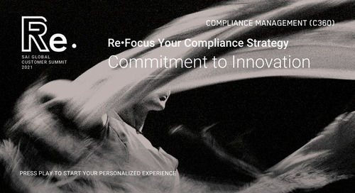 Re•Focus Your Compliance Strategy | Commitment to Innovation