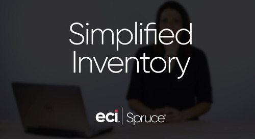 Spruce - Simplified Inventory