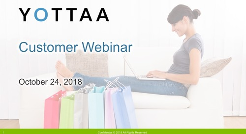 2018 Yottaa Customer Webinar