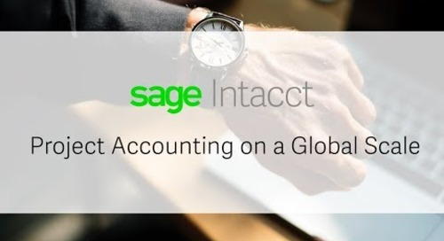 Cameo Global Automates Services Financials with Sage Intacct