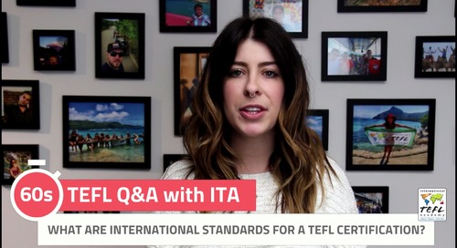What Are International Standards for a TEFL Certification? - TEFL Q&A with ITA