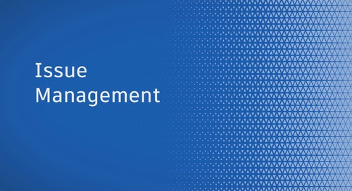 Issue Management