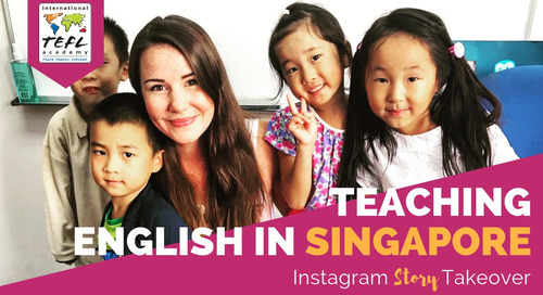 Day in the Life Teaching English in Singapore with Kelsey Ax