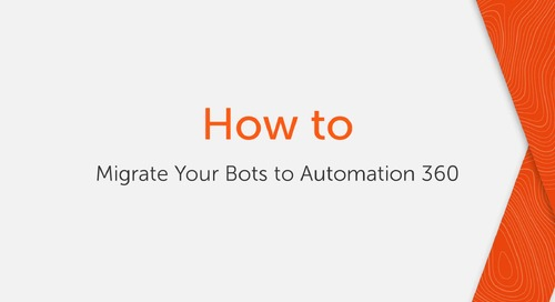 How to migrate your bots to Enterprise A2019