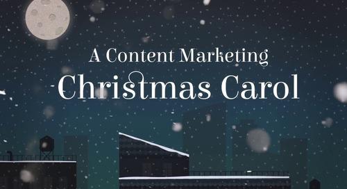 A Content Marketing Christmas Carol