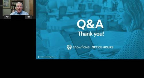 Snowflake Office Hours - Nitrogen.ai