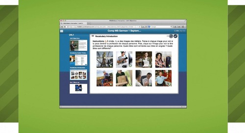 Overview: High School World Language Courses from Middlebury Interactive Languages